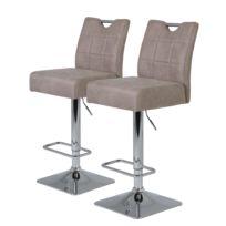 Chaises de bar Topid II (lot de 2)