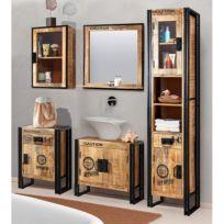 Salle de bain Iron I (5 éléments)