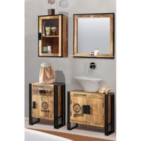 Salle de bain Iron II (4 éléments)