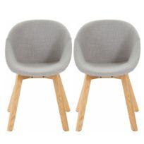 Gestoffeerde stoelen Corbel (set van 2)