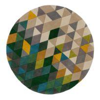 Wollen vloerkleed Prism I