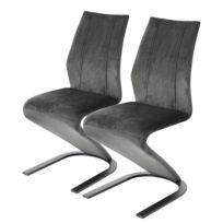 Chaises cantilever Aranda (lot de 2)