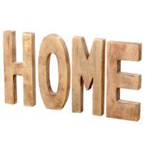 Schriftzug Home (4-teilig)