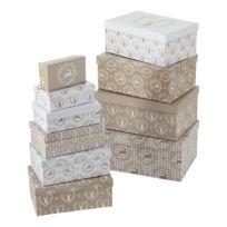 Boîtes à cadeaux Leopold (10 éléments)