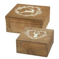 Boîtes de rangement Leopold (2 éléments)