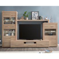 Ensemble meubles TV Vierzon (4 éléments)