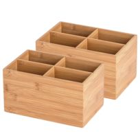 Bambus Box Terra I (2er-Set)