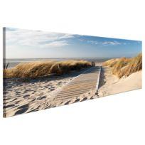 Tableau déco plexiglas Wild Beach