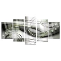 Acrylglasbild The Wave of Green Glow