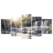 Tableau déco plexiglas Waterfall