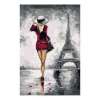 Malen nach Zahlen - Pariserin