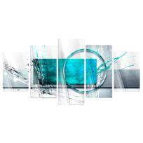 Acrylglasbild Turquoise Expression