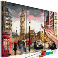 Malen nach Zahlen - Straßen von London