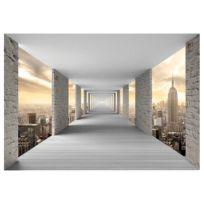 Vlies Fototapete Skyward Corridor