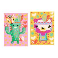 Peinture par numéro - Cactus et ours