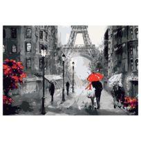 Malen nach Zahlen - Verliebt in Paris