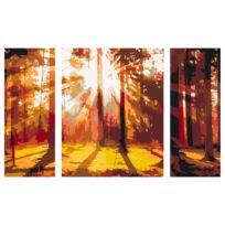 Peinture par numéro - Forêt (Automne)