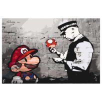 Malen nach Zahlen - Mario (Bansky)