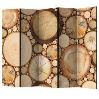 Paravent Wood Grains II (5-teilig)