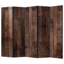 Kamerscherm Wooden Hut II (set van 5)