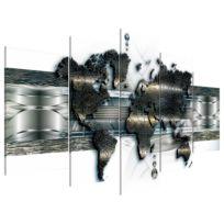 Afbeelding Metal World Map