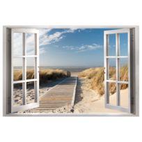 Afbeelding Window: View of the Beach