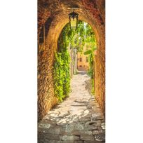 Vlies Türtapete Alley in Italy