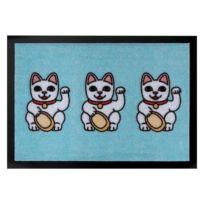 Fußmatte Three Lucky Cats