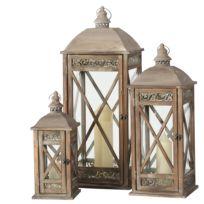 Lanternes Pauline (3 éléments)