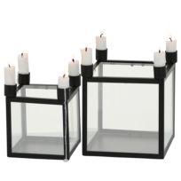 Kerzenhalter Kiro (2-teilig)