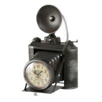 Tischuhr Fotoapparat