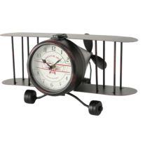 Tischuhr Flugzeug