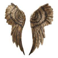 Muurdecoratie Engelenvleugels (2-delig)