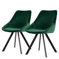 Gestoffeerde stoel Ritz (set van 2)