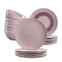 Assiettes en céramique Matera (18 élém.)