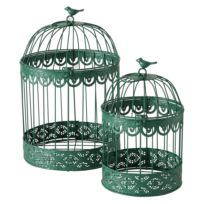 Vogelkäfig Frederique (2-teilig)