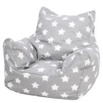 Kindersitzsack White Stars