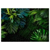 Vliestapete Darl Jungle Grüne Blätter