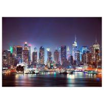 Vlies Fototapete Night in New York City