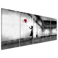 Tableau déco Runaway Balloon (Banksy)