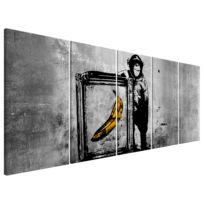 Wandbild Monkey with Frame (Banksy)