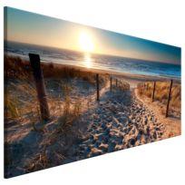 Wandbild Sunset Path
