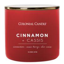 Geurkaars Cinnamon & Cassis