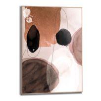Tableau déco Forme abstraite rond II