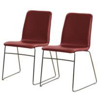 Gestoffeerde stoel Myko (set van 2)