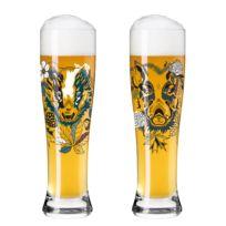 Weizenbierglas Brauchzeit IV (2er-Set)