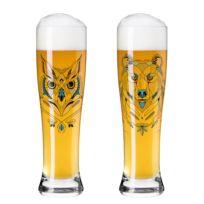 Weizenbierglas Brauchzeit I (2er-Set)