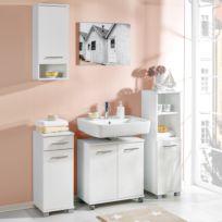 Set mobili da bagno Negril (4 pezzi)