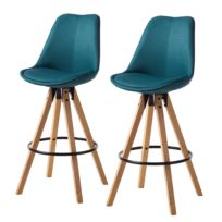 Chaises de bar Aledas II (lot de 2)