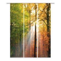 Panneau japonais Wald (set de 3)